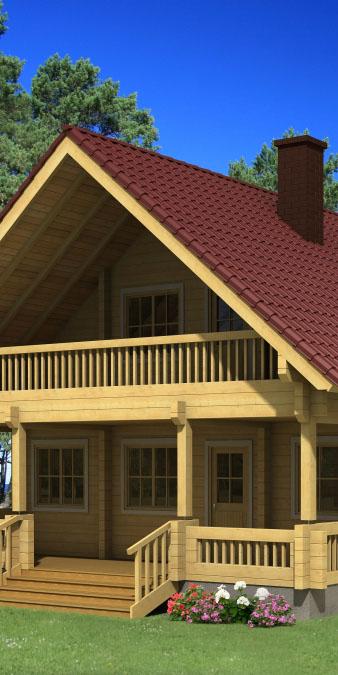 wooden houses costa Blanca